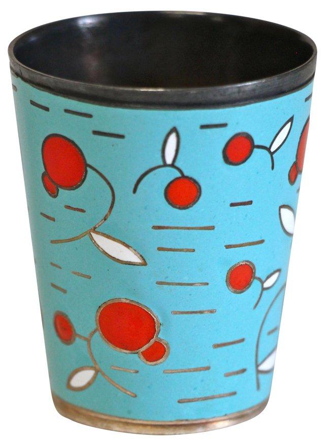 Cloisonné Enameled Cup