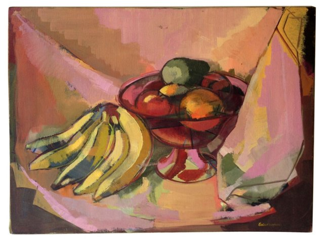 Still Life of Fruit - Oil Painting