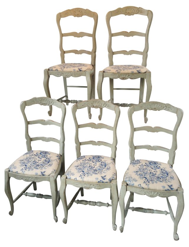 French     Chairs, S/5
