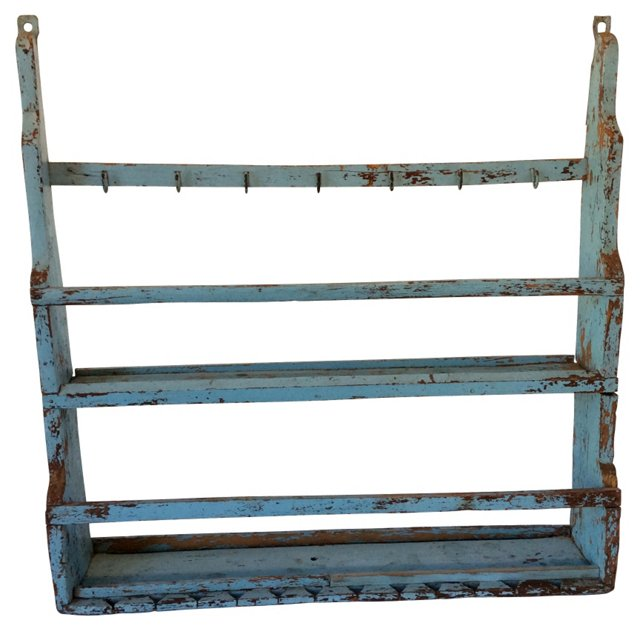 Antique French Plate Rack
