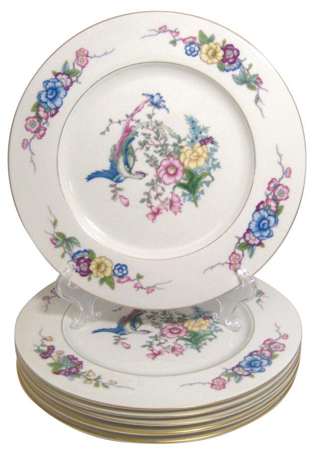 Castleton Venetian Dinner Plates, S/6