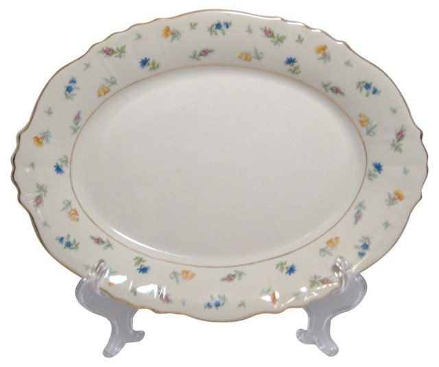 Syracuse Suzanne Floral Platter