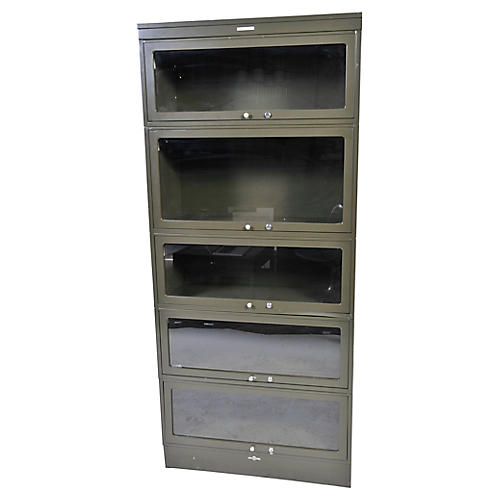 Steel Barrister Bookcase