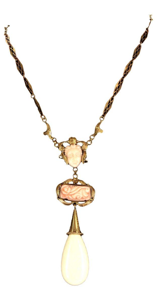 Victorian Medusa Necklace