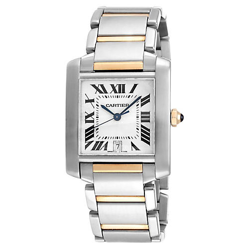 Cartier Tank Francaise Two Tone Watch