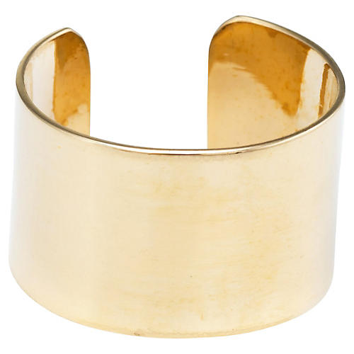 Wide Band Pinky Cuff Ring
