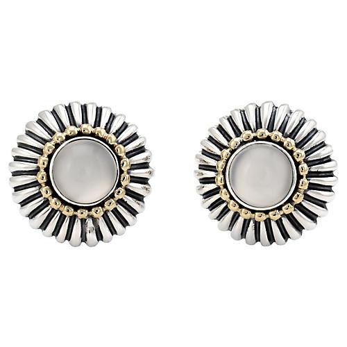 Lagos Caviar Moonstone Earrings