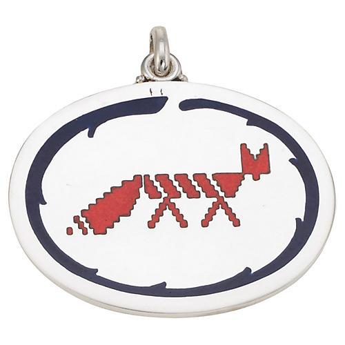 Buccellati Fox Medallion Pendant