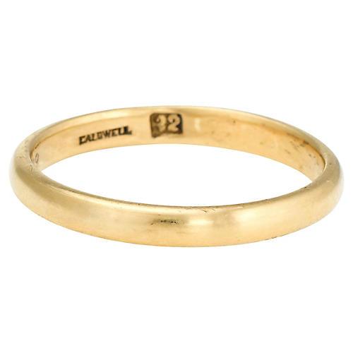 Antique 22K Gold Wedding Band