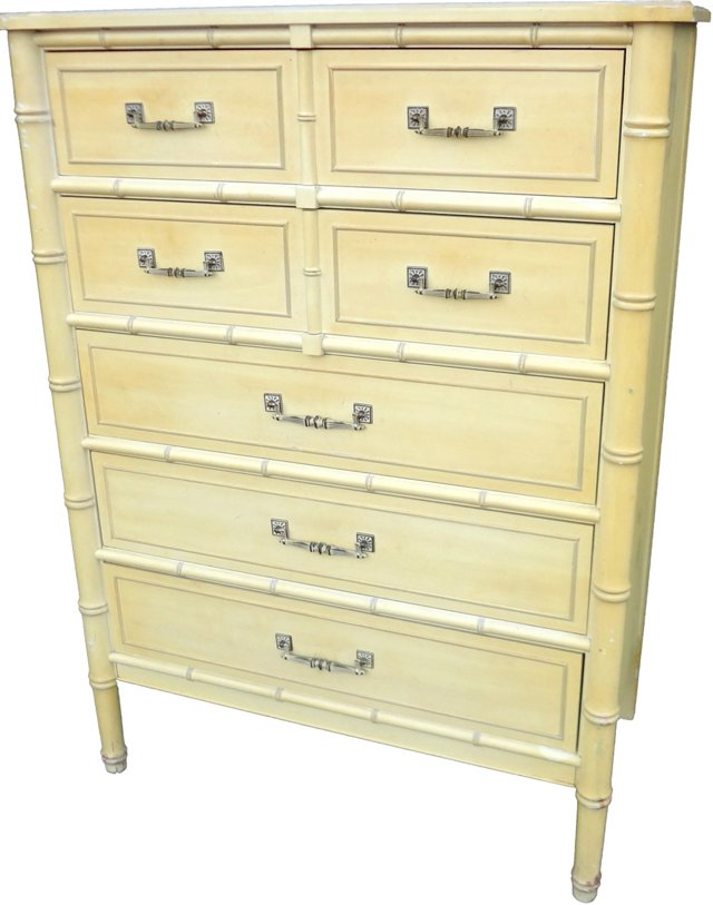 Faux-Bamboo Chest by  Henry Link