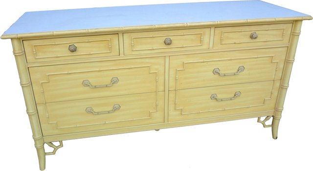 Faux-Bamboo Chest by  Thomasville