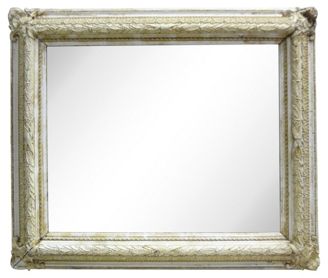 Rectangular  Swedish  Wall   Mirror