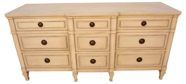 Swedish 9-Drawer   Dresser