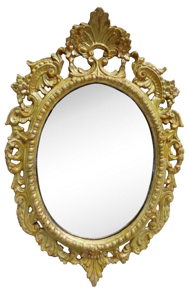 Swedish Rococo-Style Mirror
