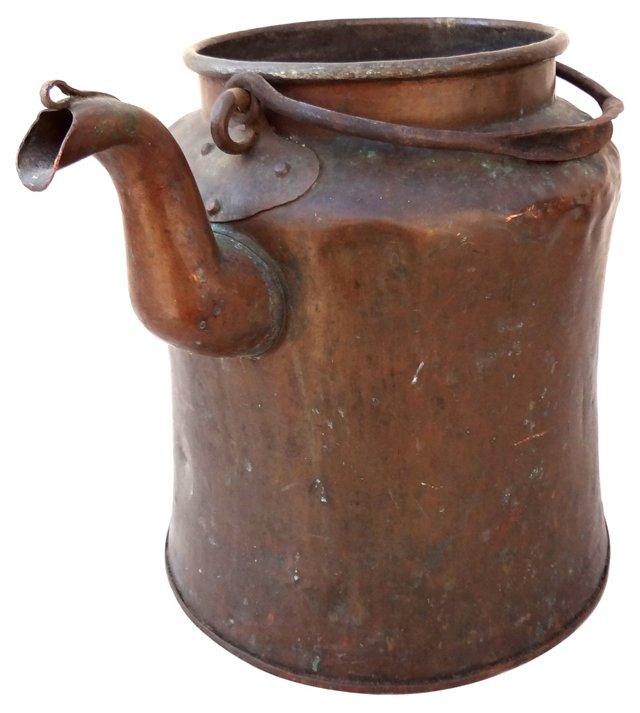Copper Milk Container