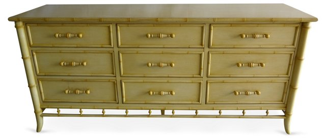 Faux-Bamboo  Dresser by Century