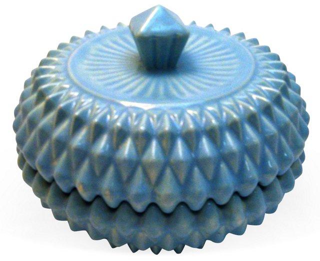 Powder Blue Vanity Dish