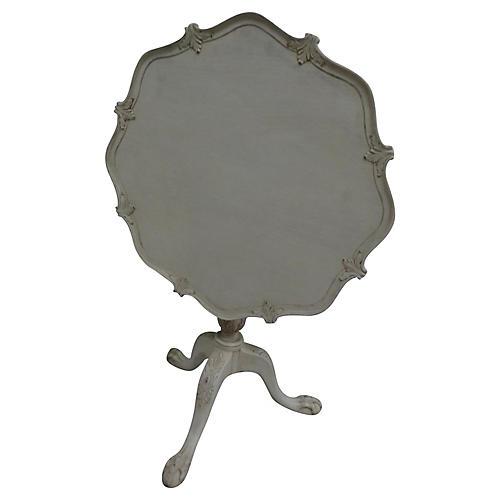 Swedish Rococo-Style Tilt-Top Table