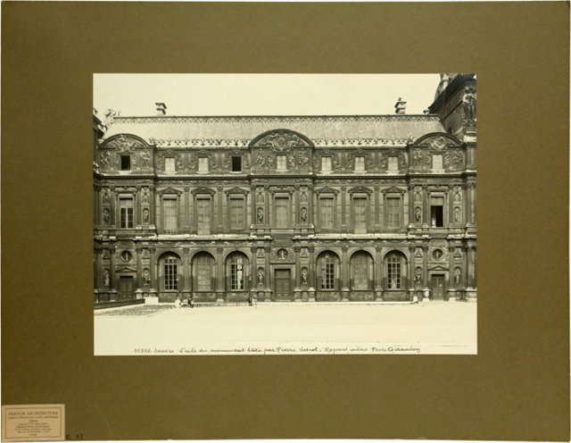 Photograph of a French Building
