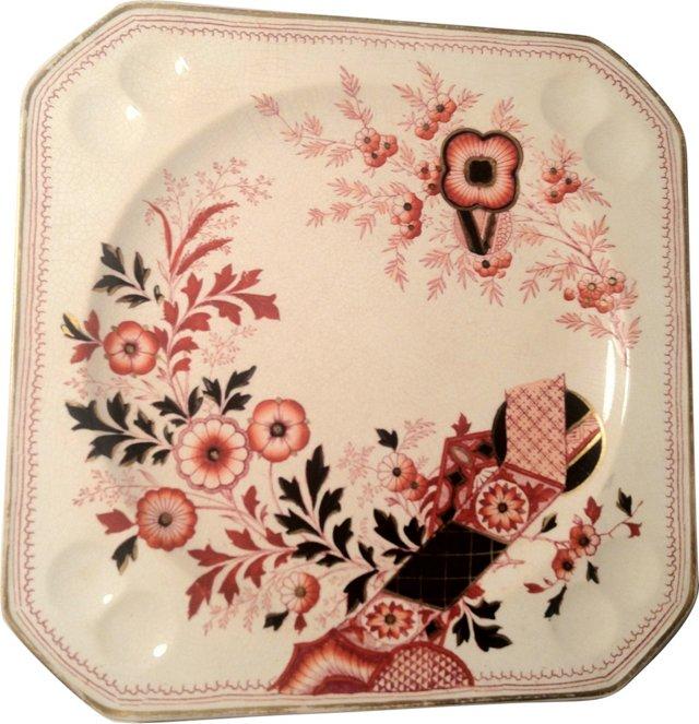 Mason Imari Salad Plates, S/5