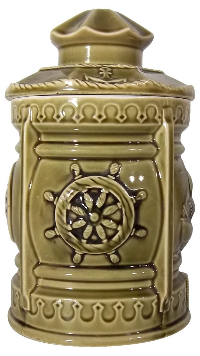 Nautical-Themed Cookie Jar