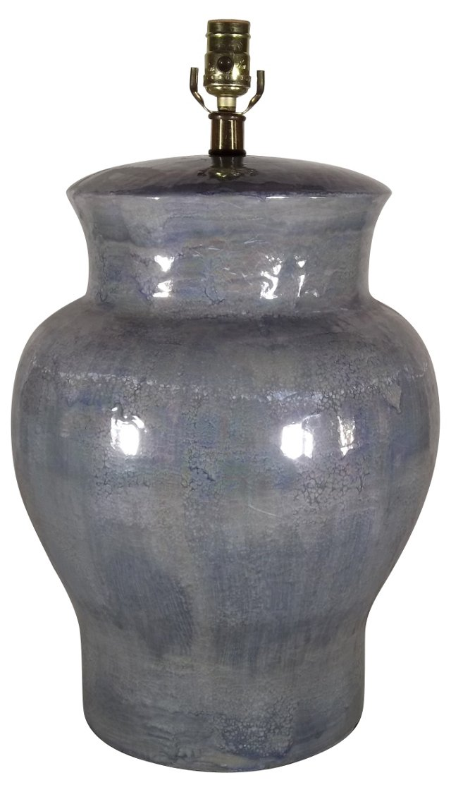 Iridescent Ceramic Lamp