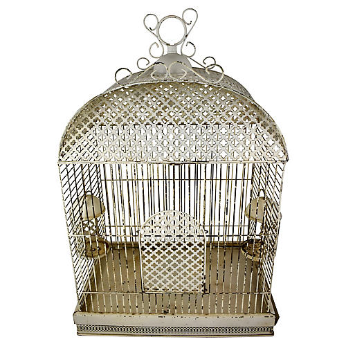Antique French Birdcage