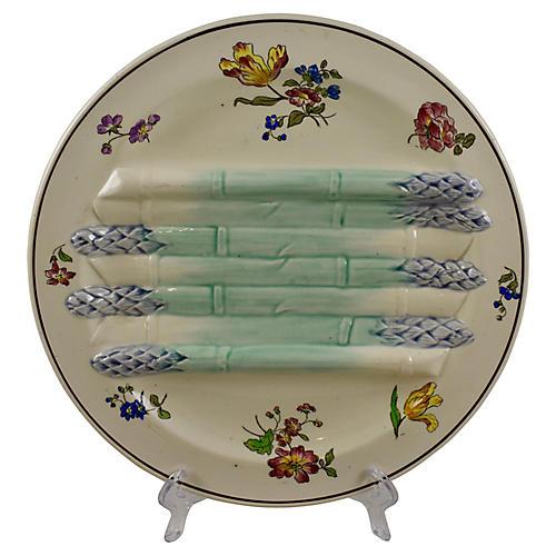 Longchamp Pompadour Asparagus Plate