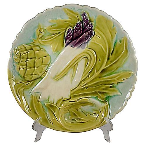 Orchies Artichoke & Asparagus Plate