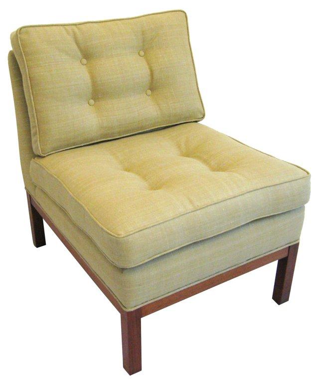 Mid-Century Modern  Slipper Chair