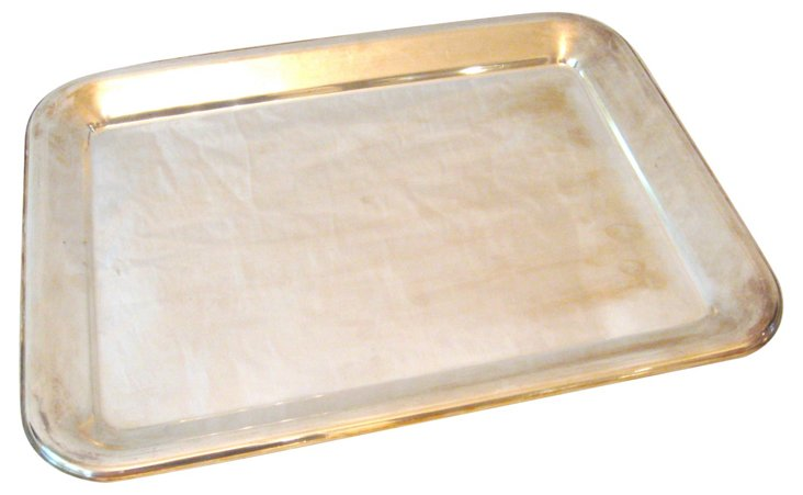 Silverplate Butler's Tray