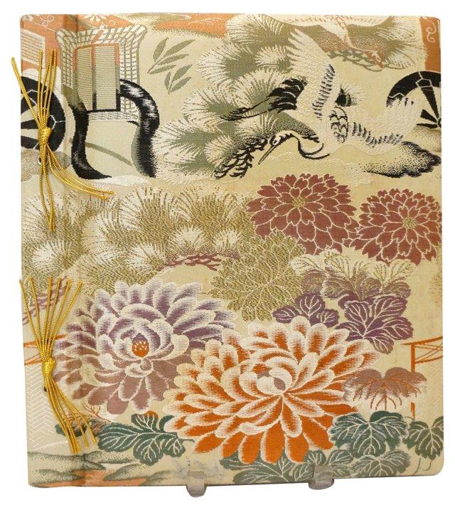 Japanese Silk Photo Album