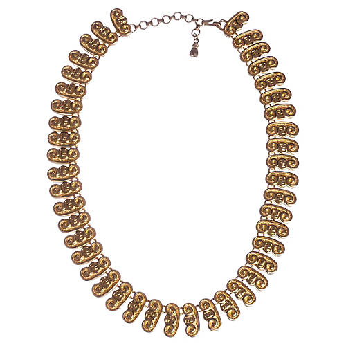 Fendi Roman Etruscan-Style Necklace