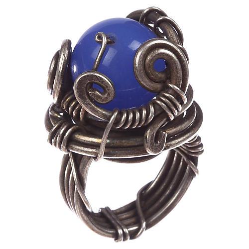 Artisan Handmade Chalcedony Ring