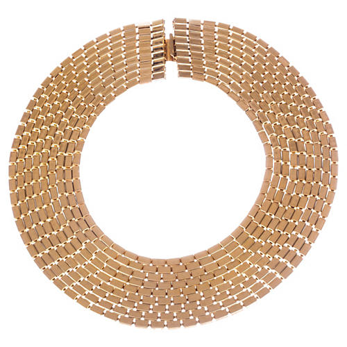 Runway Multi-Strand Bib Necklace
