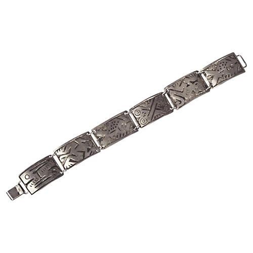 Ecuadorian Sterling Silver Bracelet