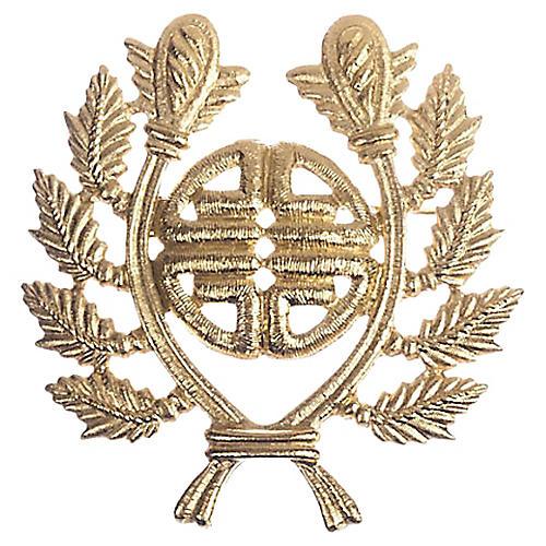 Givenchy Roman Laurel Leaf Brooch