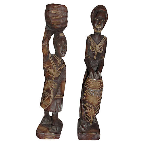 African Figurines, S/2