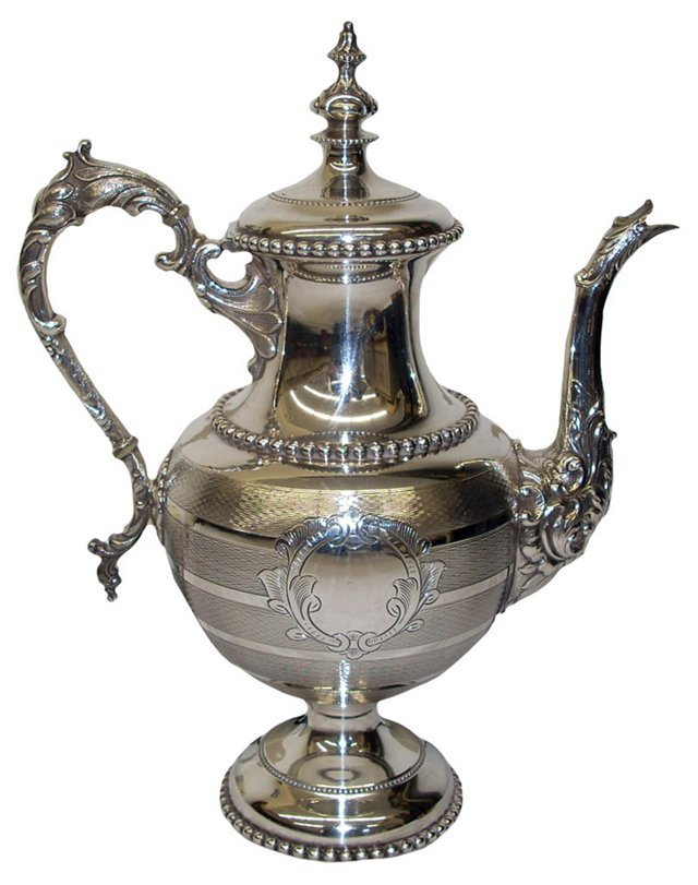 Silverplate Teapot