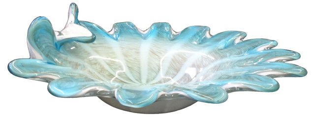 Italian Glass Dish