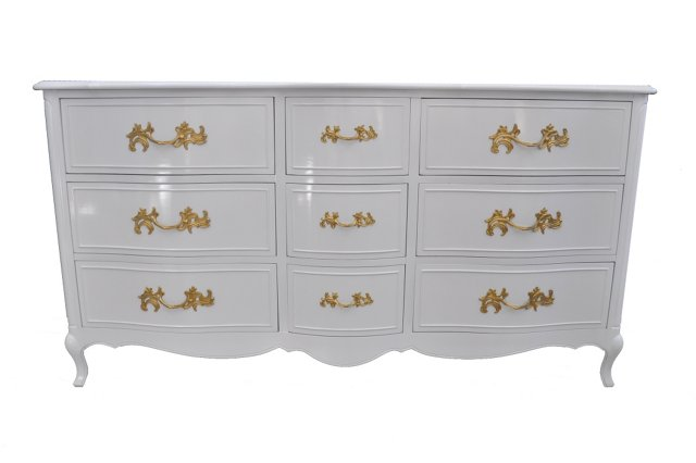 French-Style 9-Drawer Dresser by Drexel