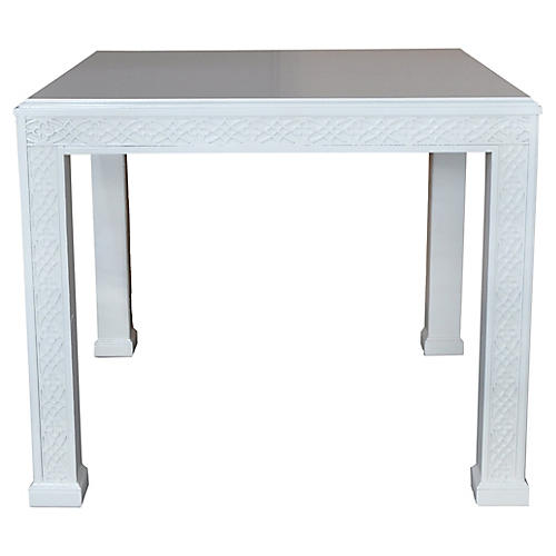 Fretwork Side Table