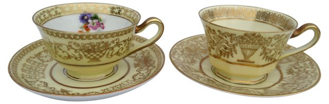 Bavaria Demitasse Sets, Svc. for 2