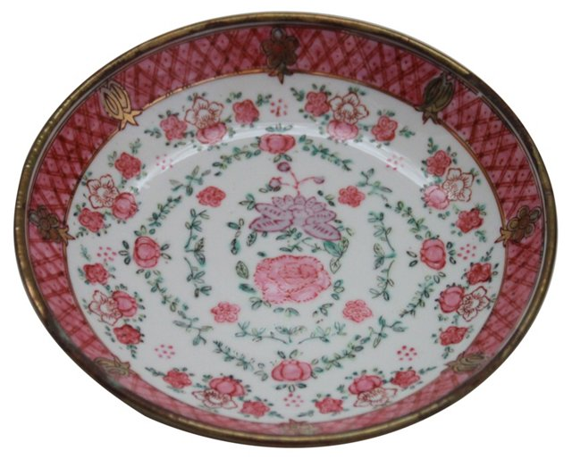 Porcelain on Brass Bowl