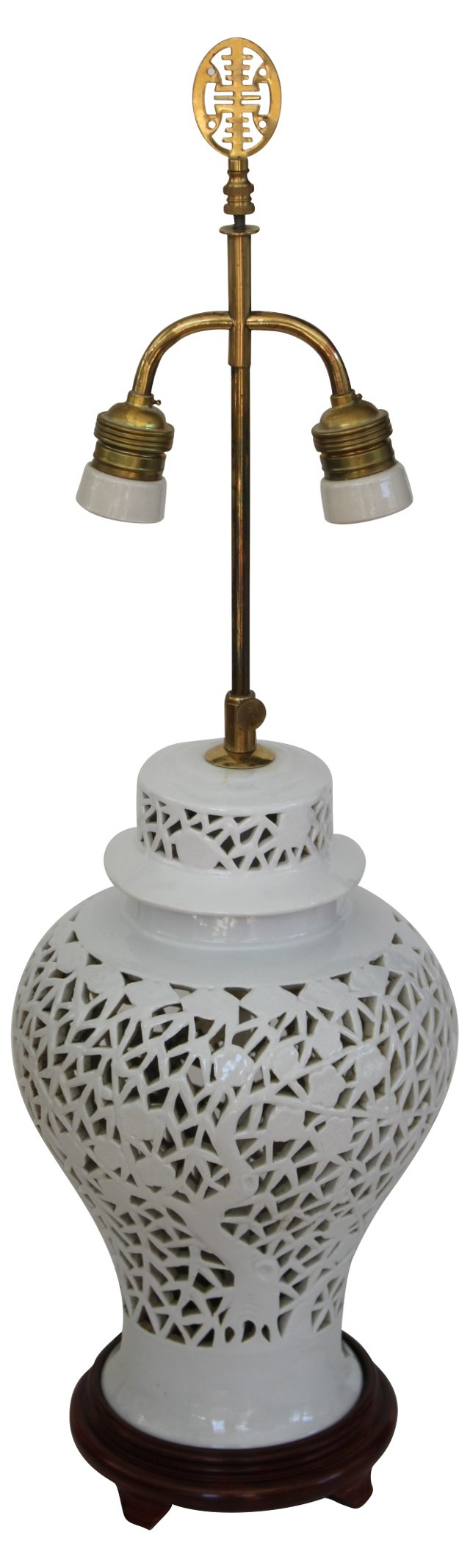 Blanc de Chine Ginger  Jar Lamp