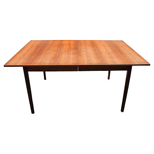 Midcentury Teak Extension Dining Table