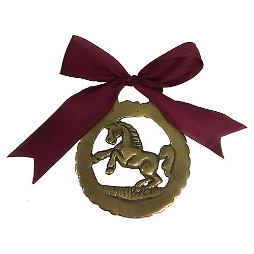 Antique Horse Ornament