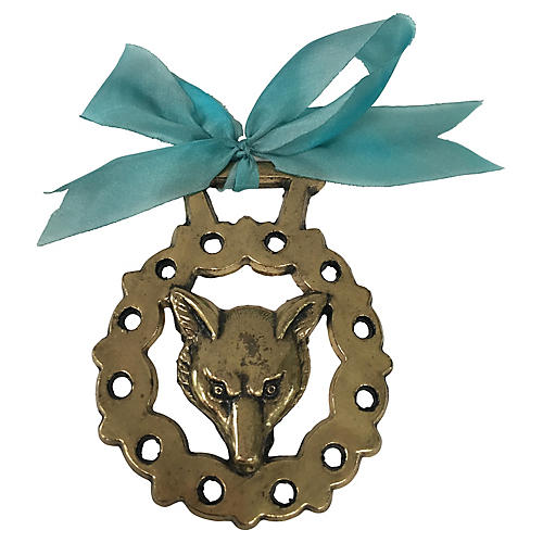 Antique Fox Ornament