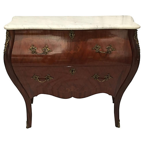 20th Century French Louis XVI Marble Top