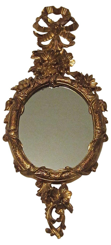 Gilt Accent Mirror